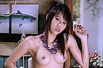 Amy Berry Strips Sleepwear And Bares Nice Tits And Natural Bush