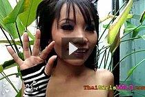 Long Haired Thai Girl Well